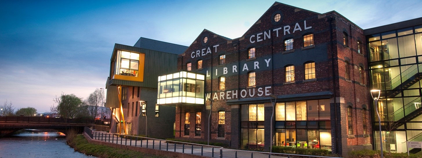Great Central Warehouse Library - university of lincoln