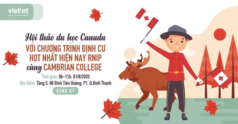 Hội thảo du học Canada với chương trình định cư RNIP