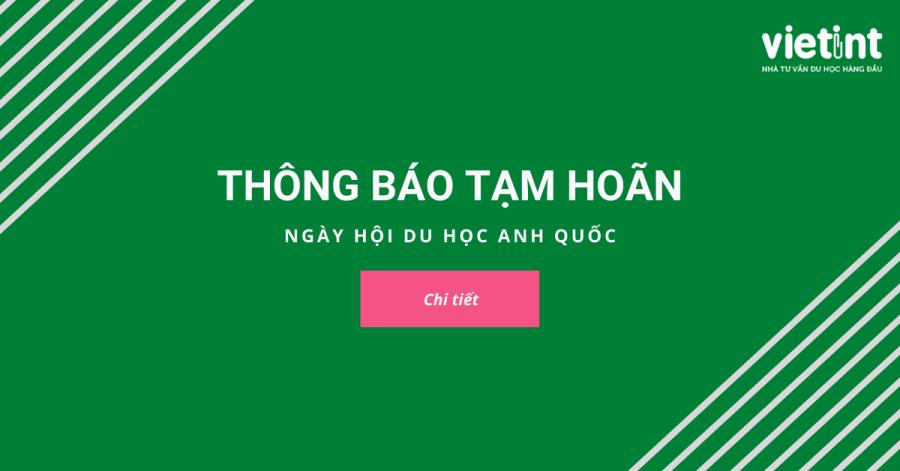 THÔNG BÁO TẠM HOÃN