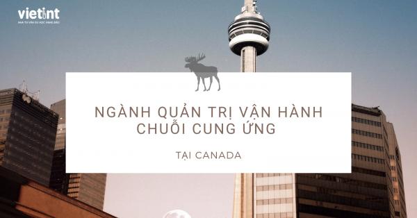 Du học ngành Quản trị vận hành chuỗi cung ứng tại Canada
