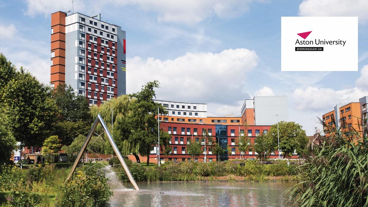 Aston University được vinh danh là 'University of the Year' 2020