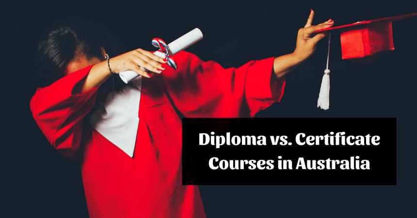 Sự khác nhau giữa Diploma và Certificate tại Úc